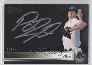 2012 Bowman - Multi-Product Insert Bowman Black Collection - [Autographed] #BBC-PL - Pat Light /25