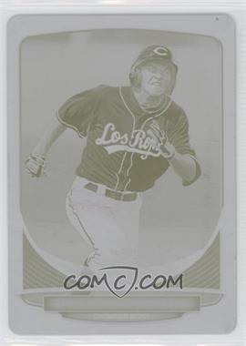 2012 Bowman - Prospects - Printing Plate Yellow #BP13 - Tanner Rahier /1