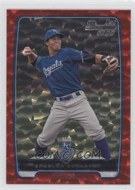 2012 Bowman - Prospects - Red Ice #BP58 - Cheslor Cuthbert /25