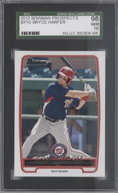 2012 Bowman - Prospects #BP10 - Bryce Harper [SGC98]