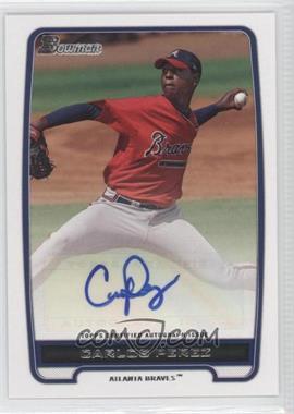 2012 Bowman - Retail Prospect Certified Autographs - [Autographed] #BPA-CP - Carlos Perez