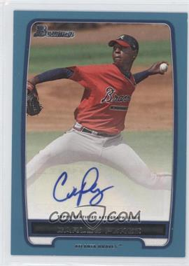2012 Bowman - Retail Prospect Certified Autographs - Blue [Autographed] #BPA-CP - Carlos Perez /500