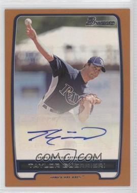 2012 Bowman - Retail Prospect Certified Autographs - Orange [Autographed] #BPA-TG - Taylor Guerrieri /250