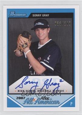 2012 Bowman Aflac All-American Certified Autographs [Autographed] #AFLAC-SG - Sonny Gray /200