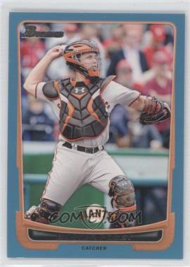 2012 Bowman Blue Border #163 - Buster Posey /500