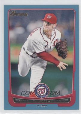 2012 Bowman Blue Border #169 - Stephen Strasburg /500