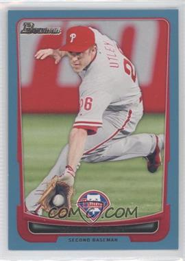 2012 Bowman Blue Border #184 - Chase Utley /500