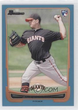 2012 Bowman Blue Border #200 - Eric Surkamp /500