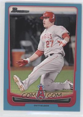 2012 Bowman Blue Border #34 - Mike Trout /500
