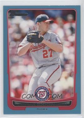 2012 Bowman Blue Border #54 - Jordan Zimmermann /500