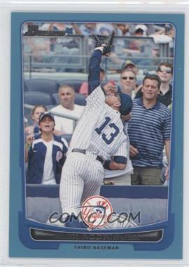 2012 Bowman Blue Border #63 - Alex Rodriguez /500