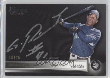 2012 Bowman Bowman Black Collection [Autographed] #BBC-GP - Guillermo Pimentel /25