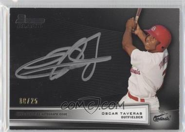 2012 Bowman Bowman Black Collection [Autographed] #BBC-OT - Oscar Taveras /25