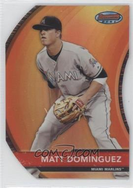 2012 Bowman Bowman's Best Die-Cut Refractor #BB8 - Matt Dominguez /99