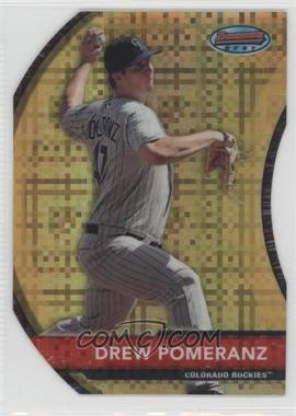 2012 Bowman Bowman's Best Die-Cut X-Fractor #BB5 - Drew Pomeranz /25