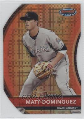 2012 Bowman Bowman's Best Die-Cut X-Fractor #BB8 - Matt Dominguez /25