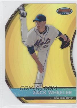 2012 Bowman Bowman's Best Prospects Die-Cut Refractor #BBP18 - Zack Wheeler /99