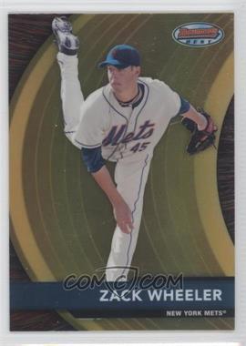 2012 Bowman Bowman's Best Prospects #BBP18 - Zack Wheeler