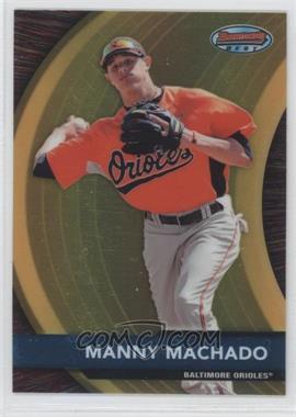2012 Bowman Bowman's Best Prospects #BBP2 - Manny Machado