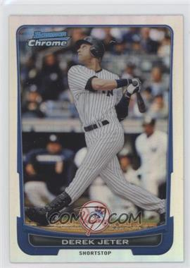 2012 Bowman Chrome - [Base] - Refractor #10 - Derek Jeter