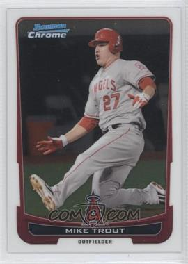 2012 Bowman Chrome - [Base] #157 - Mike Trout