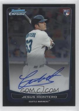 2012 Bowman Chrome - Rookie Certified Autographs - [Autographed] #210 - Jesus Montero