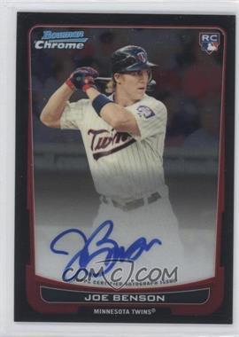 2012 Bowman Chrome - Rookie Certified Autographs - [Autographed] #215 - Joe Benson
