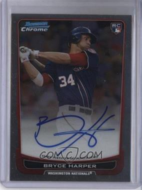 2012 Bowman Chrome - Rookie Certified Autographs - [Autographed] #RA-BH - Bryce Harper