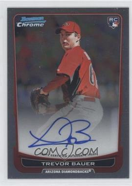 2012 Bowman Chrome - Rookie Certified Autographs - [Autographed] #RA-TB - Trevor Bauer