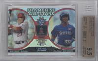 Mike Trout, Jean Segura [BGS 9.5]