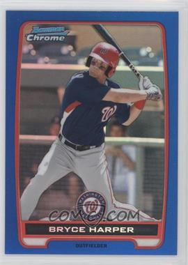2012 Bowman Chrome Prospects Blue Refractor #BCP10 - Bryce Harper /250