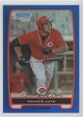 2012 Bowman Chrome Prospects Blue Refractor #BCP125 - Donald Lutz /250