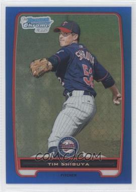 2012 Bowman Chrome Prospects Blue Refractor #BCP162 - Tim Shibuya /250