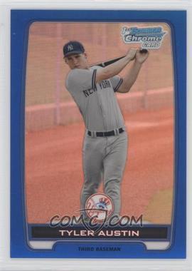 2012 Bowman Chrome Prospects Blue Refractor #BCP17 - Tyler Austin /250
