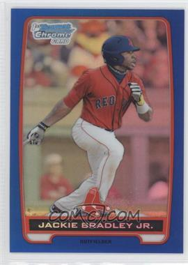 2012 Bowman Chrome Prospects Blue Refractor #BCP66 - Jackie Bradley Jr. /250