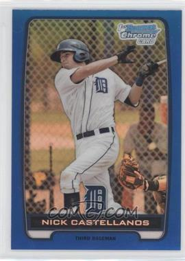 2012 Bowman Chrome Prospects Blue Refractor #BCP78 - Nick Castellanos /250