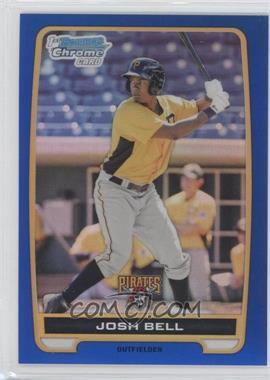 2012 Bowman Chrome Prospects Blue Refractor #BCP79 - Josh Bell /250