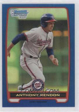 2012 Bowman Chrome Prospects Blue Refractor #BCP88 - Anthony Rendon /250