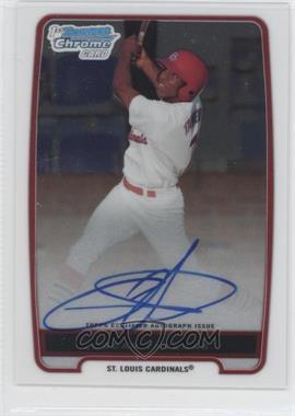 2012 Bowman Chrome Prospects Certified Autographs [Autographed] #BCP102 - Oscar Taveras