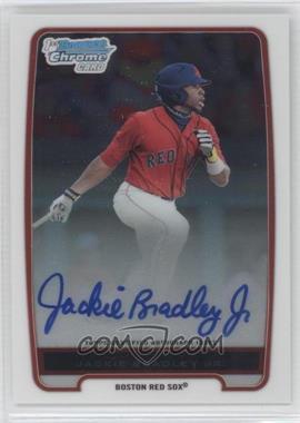 2012 Bowman Chrome Prospects Certified Autographs [Autographed] #BCP66 - Jackie Bradley Jr.