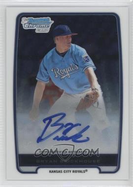 2012 Bowman Chrome Prospects Certified Autographs [Autographed] #BCP84 - Bryan Brickhouse