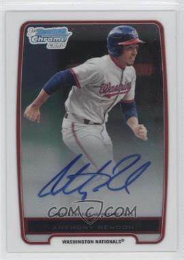 2012 Bowman Chrome Prospects Certified Autographs [Autographed] #BCP88 - Anthony Rendon