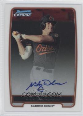2012 Bowman Chrome Prospects Certified Autographs [Autographed] #BCP92 - Nick Delmonico