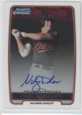 2012 Bowman Chrome Prospects Certified Autographs [Autographed] #BCP92 - Nick Delmonico