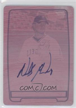 2012 Bowman Chrome Prospects Certified Autographs Printing Plate Magenta [Autographed] #BCP31 - Nick Maronde /1