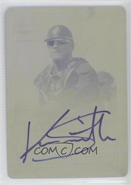2012 Bowman Chrome Prospects Certified Autographs Printing Plate Yellow [Autographed] #N/A - Kevan Smith /1