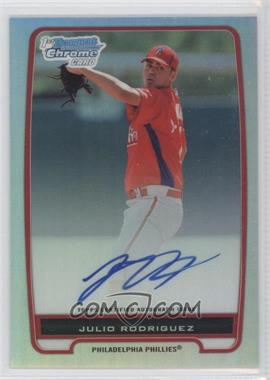 2012 Bowman Chrome Prospects Certified Autographs Refractor #BCP101 - Julio Rodriguez /500