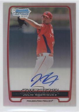 2012 Bowman Chrome Prospects Certified Autographs Refractor #BCP101 - Julio Rodriguez /500