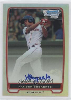 2012 Bowman Chrome Prospects Certified Autographs Refractor #BCP105 - Xander Bogaerts /500
