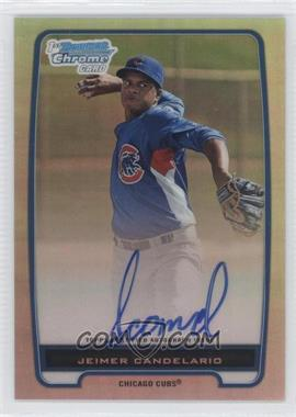 2012 Bowman Chrome Prospects Certified Autographs Refractor #BCP20 - Jeimer Candelario /500